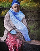Scarf Originals - On a Cold Day by Reb Frost