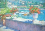 Lake Como Art - On A Morning in August by Jerry Fresia