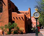 Santa Fe Magic - On a sunny afternoon in Santa Fe by Susanne Van Hulst