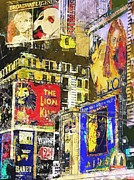 42nd Street Digital Art - On Broadway by Jeff Gibford