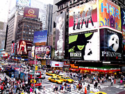 Shows Prints - On BroadWay New York Print by Rosie Brown