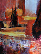 Lanscape Paintings - On dirait le Sud by Francoise Dugourd-Caput