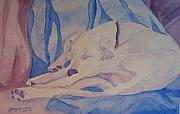 Dog Originals - On Fallen Blankets by Jenny Armitage