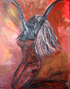On Fire Print by Laura Fatta