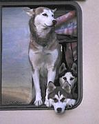 Intent Framed Prints - On Guard Framed Print by Patricia Stalter