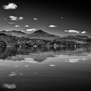 Mountains Art - On Lake Conniston by Stumayhew