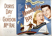 Doris Day Framed Prints - On Moonlight Bay, Doris Day, Gordon Framed Print by Everett