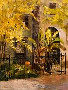 On Orleans In Old Town  Print by Nancy Albrecht