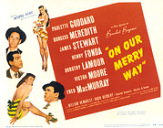 Lobbycard Prints - On Our Merry Way, Dorothy Lamour, Henry Print by Everett
