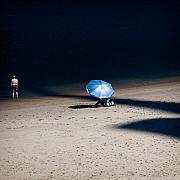 Shadow Metal Prints - On The Beach Metal Print by David Bowman