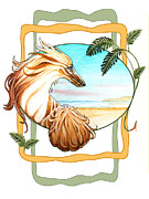 Afghan Hound Framed Prints - On the Beach Framed Print by Lynne Watson