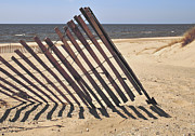 Horizon Lines Art - On The Beach by Odd Jeppesen