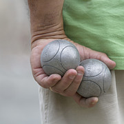 People - On the Boules Pitch by Heiko Koehrer-Wagner