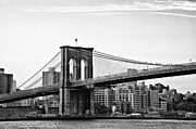 Manhatten Prints - On the Brooklyn Side Print by Bill Cannon