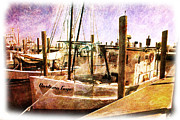 Boating Digital Art - On the Docks by Barry Jones