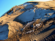 Sand Dunes Art - On The Edge by Theresa Baker