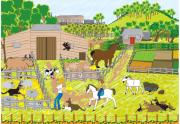 On The Farm Print by Diana-Lee Saville