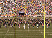Marching Band Prints - On the Field Print by David Bearden