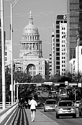 Austin Tx Prints - On the go in Austin Print by Jenna Monroe