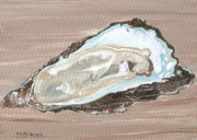 Raw Oyster Posters - On the Half Shell Poster by Keith Wilkie