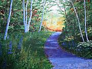 Pathway Paintings - On The Path by Lynn Quinn