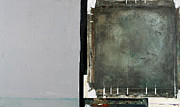Gray Mixed Media Prints - On The Right Track Print by Michel  Keck