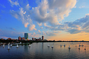 Charles River Metal Prints - On The River Metal Print by Rick Berk