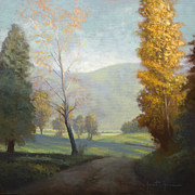 East Tennessee Paintings - On the Road by Jonathan Howe