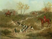 Fox Hunting Prints - On the Scent Print by James Russell Ryott