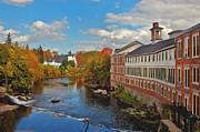 New Hampshire - On the Souhegan by Joann Vitali
