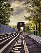 Sandra Cunningham - On the train tracks