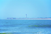 Lighthouse Digital Art - On the Way to Cape May by Bill Cannon