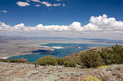Owens River Art - On Top of Mono Lake by Kirk Williams