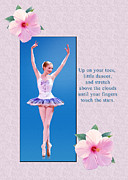 Ballet Prints - On Your Toes Print by Delores Knowles