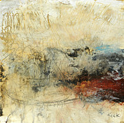 Abstracts Mixed Media Prints - Once in a Lifetime Print by Michel  Keck