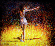 Dancer Paintings - Once In A Lifetime V by Nik Helbig
