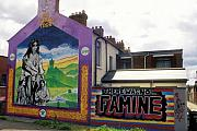 Mural Photos - Once Upon a Famine by Carl Purcell
