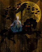 Dreamscape Metal Prints - Once Upon a Night Metal Print by Mimulux patricia no