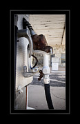 Gasoline Photos - Once Upon a Pump by Robert R Sanders