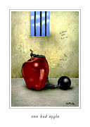 Bad Paintings - One bad apple... by Will Bullas