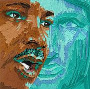 Martin Luther King Tapestries - Textiles Posters - One Day - Part one of two Poster by Barbara Lugge