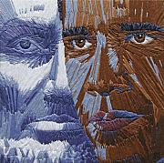 Obama Tapestries - Textiles - One Day - part two of two by Barbara Lugge
