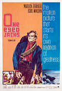 1960s Movies Posters - One-eyed Jacks, Marlon Brando, 1961 Poster by Everett