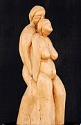 Embrace Sculptures - One Flesh by Mario Agius