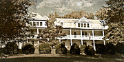 Susan Leggett Metal Prints - One Hundred Year old Mountain Inn Metal Print by Susan Leggett