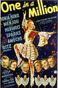 Ev-in Prints - One In A Million, Sonja Henie, 1936 Print by Everett