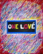 First Love Prints - One Love Print by Brian  Signorelli