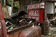 Rusty Pickup Truck Photos - One Mans Treasure by Peter Chilelli