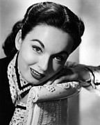 Blyth Prints - One Minute To Zero, Ann Blyth, 1952 Print by Everett