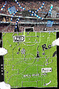 Soccer Mixed Media - One moment I by Andy  Mercer